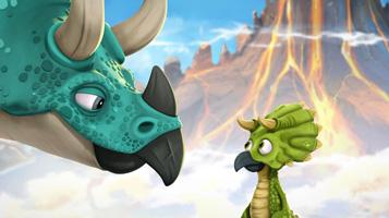 Гігантозавр. Бути тріцератопсом