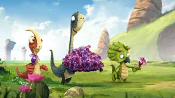 Гігантозавр. Не рвіть квіти
