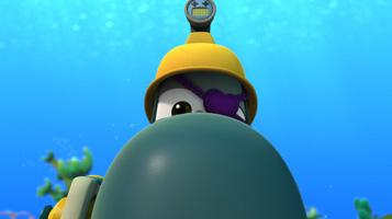 Марин та його друзі. Підводні історії.. Шпигунська історія