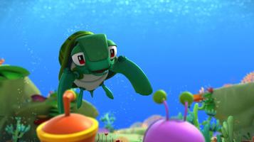 Марин та його друзі. Підводні історії.. Альто та черепаха