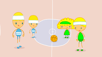 Майя Дій. Баскетбол